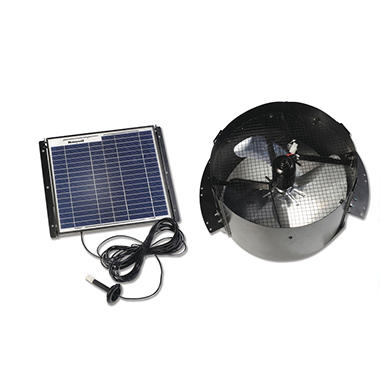 Honeywell Solar Powered Gable Mount Attic Fan