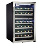 Danby Designer 38 Bottle Dual Zone Wine Cooler