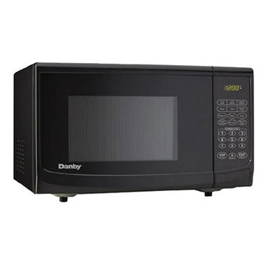 0.7 cu. ft. 700W Microwave - Black
