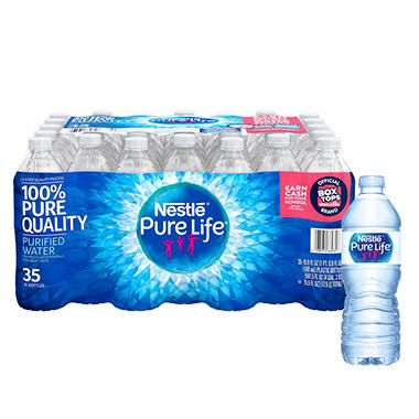 Nestle Pure Life Purified Water (16.9 fl. oz., 35 pk.)