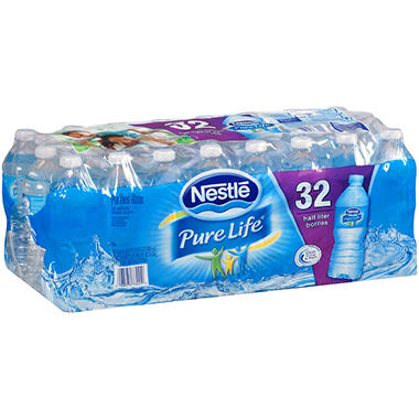 Nestle Pure Life Purified Water (16.9 fl. oz., 32 ct.)