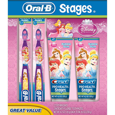 Oral-B Kids Pro Health Stages - Disney Princess