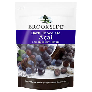 Brookside® Dark Chocolate Açai and Blueberry Flavors - 2 lb.
