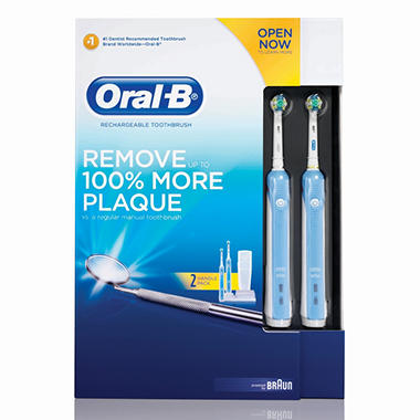 Oral-B Professional Care Rechargeable Toothbrush - 2  pk