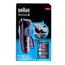 Braun Series 3 Shaver with Clean & Charge Station, Model 3070cc