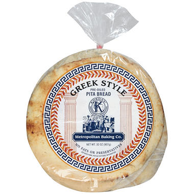 Kordas' Metropolitan Baking Co. Pita Bread - 32 oz.