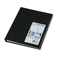 Blueline - NotePro Undated Daily Planner, 9-1/4 x 7-1/4 -  Black