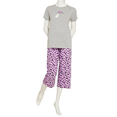 June & Daisy Capri Sleep Set (Assorted Colors)