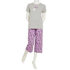 June & Daisy Capri Sleep Set (Assorted Colors)