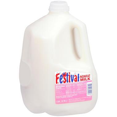 Festival Nonfat Milk  (1 gal.)