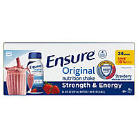 Ensure Original Nutrition Shake, Strawberry (8 fl. oz., 24 ct.)