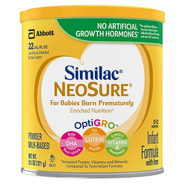 Similac - Neosure Infant Formula, 13.1 oz. - 6 pk.
