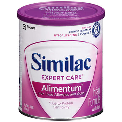 Similac Alimentum Infant Formula (16 oz., 6 pk.)