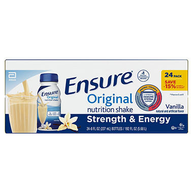 Ensure Shakes Homemade Vanilla - 8 fl. oz. - 24 ct.