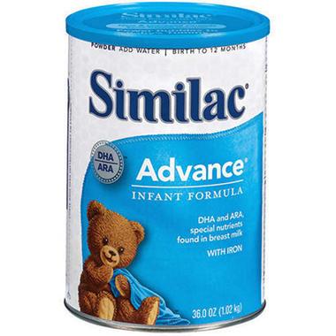 Similac - Advance Infant Formula, 36 oz. - 1 pk.