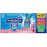 PediaSure Strawberry Shake - 8 oz. bottles - 24 pk.