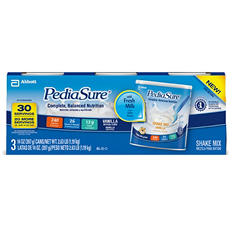 PediaSure Powder Shake Mix, Vanilla (14 oz., 3 pk.)