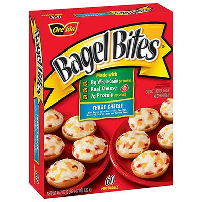 Ore-Ida ® Bagel Bites® Three Cheese - 60 Ct.