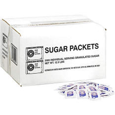 Crystal Sugar Packets - 2,000ct