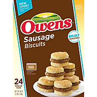 Owens SnackWiches Sausage Biscuits (24 ct.)