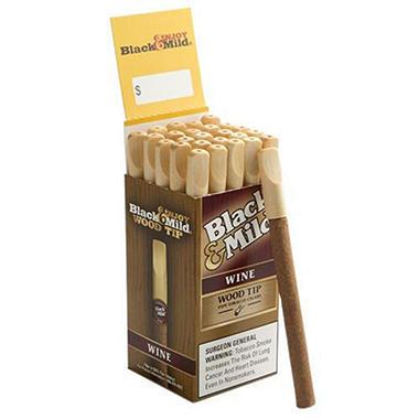 Black & Mild Wood Tip Wine - 25 ct.