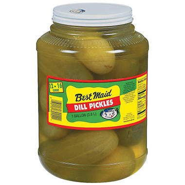 Best Maid Dill Pickles - 1 gal.