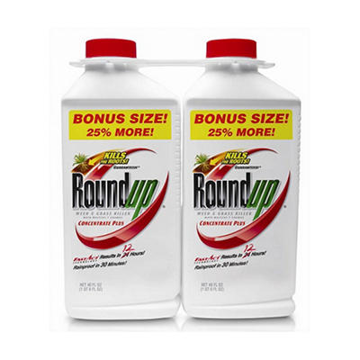 Roundup® Weed & Grass Killer Concentrate Plus - 2 pk