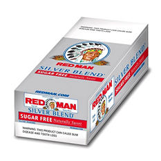 Red Man Silver Blend Chewing Tobacco - 12 / 3 oz.