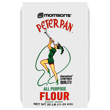 Peter Pan� All Purpose Flour - 25lbs