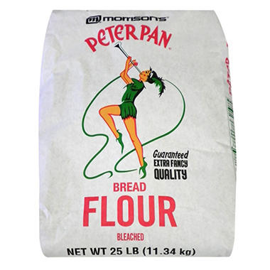 Peter Pan Bread Flour (25 lb.)