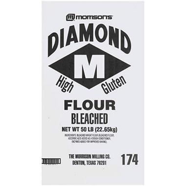 Morrison's® Diamond Bleached Flour - 50lb