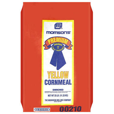 Morrison's� Yellow Cornmeal - 25lbs