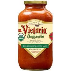 Victoria Organic Garden Herb Marinara (40 oz. jar)