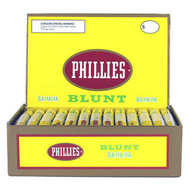 Phillies Blunt Banana Cigars - 50 ct. box
