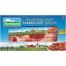 Farmland Hickory Smoked Bacon - 1 lb. - 3 pks.