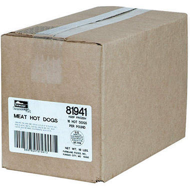 Farmland� Meat Hot Dogs - 10 lbs.