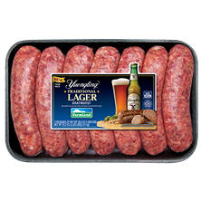 Traditional Lager Beer Bratwurst (3.27 lb.)