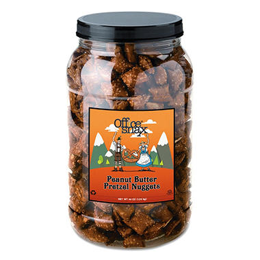 Office Snax� Peanut Butter Pretzel Gems - 44oz.