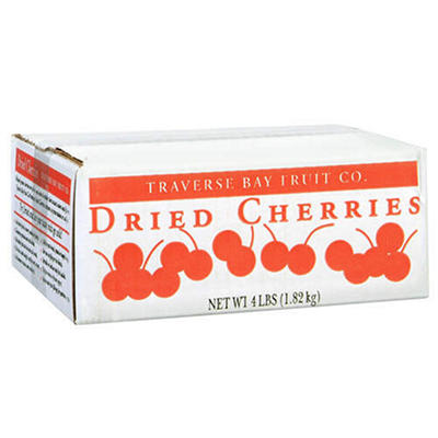 Traverse Bay Fruit Co. Dried Cherries - 4 lb. box