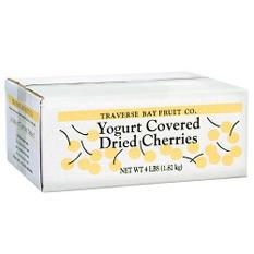 Yogurt Covered Dried Cherries (4 lb. box)