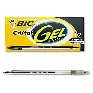 Bic Crystal Gel Pens
