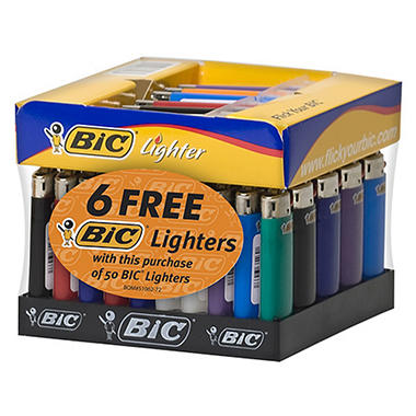 BIC 56 ct. Mini Lighter Tray