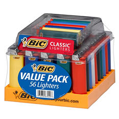 BIC 56 ct. Maxi Lighter Tray