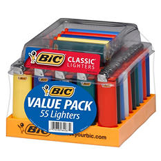 BIC Maxi Lighter Tray - 55 ct.
