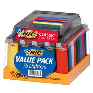 BIC Maxi Lighter Tray (55 ct.)