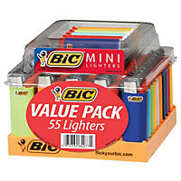 BIC Mini Lighter Tray (55 ct.)