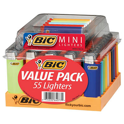 BIC Mini Lighter Tray - 55 ct.