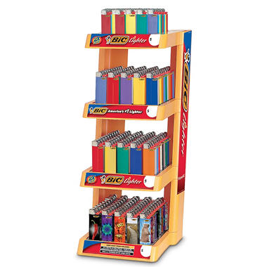 BIC 4 Tier Display Extra Value Pack