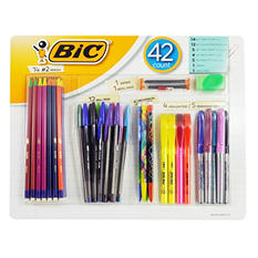 BIC All In One Writing Pack 42 Count