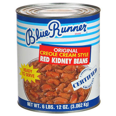 Blue Runner Creole Cream Style Beans-6/128 oz.